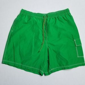 Tommy Hilfiger Green Swimming shorts 1 cargo pocke
